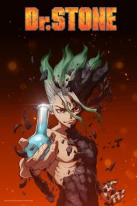 Key visual of anime Dr. Stone