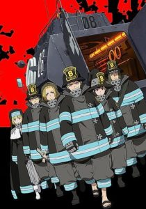 Enn Enn no Shouboutai (Fire Force) Anime Visual