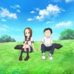 Karakai Jouzu no Takagi-san tells the story of Nishikata-kun, a middle school boy who is constantly being teased by his seat neighbor Takagi-san. Anime Visual