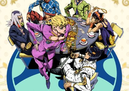 JoJo's Bizarre Adventure: Golden Wind. Anime Visual