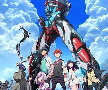 SSSS.Gridman Anime Series Visual
