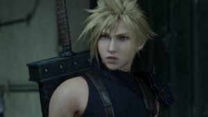 Official Screenshot from PS4 game Final Fantasy VII Remake