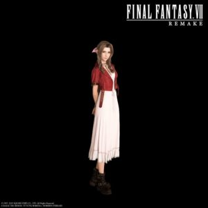 Aerith from game Final Fantasy VII Remake