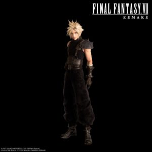 Cloud from game Final Fantasy VII Remake