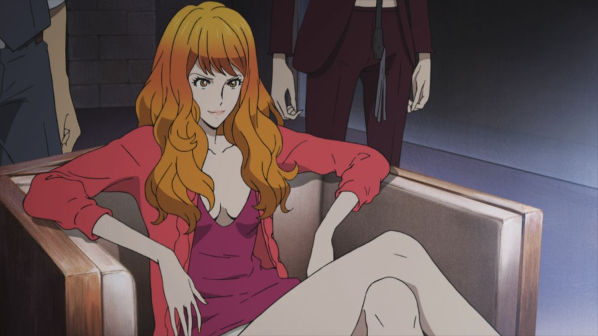 Still from anime movie Lupin the Third: Mine Fujiko no Uso