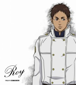 Roy (Garmr) from anime To the Abandoned Sacred Beasts