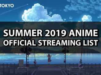 Summer 2019: Official Anime Streaming List
