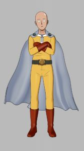 Saitama from game One Punch Man: A Hero Nobody Knows