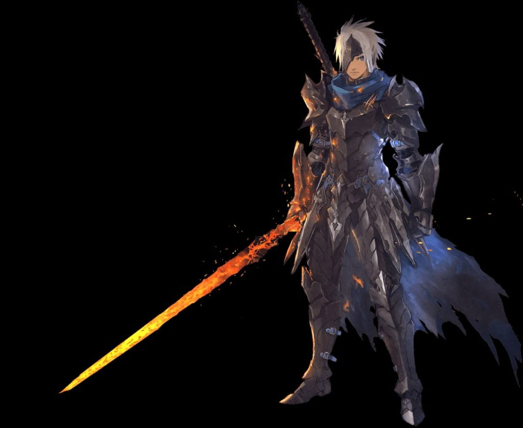 Alphen from game Tales of Arise