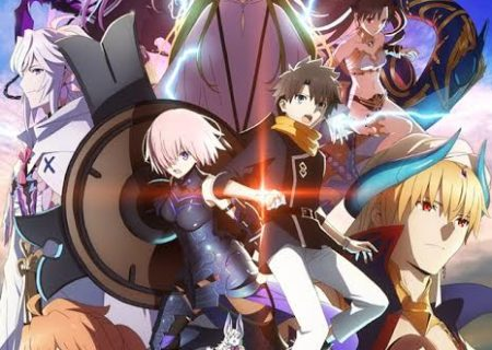 Fate/Grand Order: The Absolute Frontline in the War Against the Demonic Beasts – Babylonia. Anime Logo