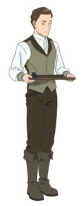 Marc from anime Otto from anime Ascendance of a Bookworm (Honzuki no Gekokujou)