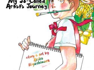 Manga Review: Blank Canvas: My So-Called Artist's Journey Vol. 1