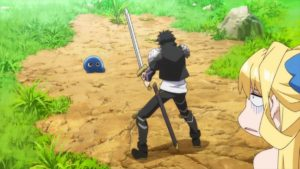 Official still of anime The Hero is Overpowered but Overly Cautious