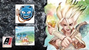 Dr. Stone creators Inagaki and Boichi at Anime NYC 2019