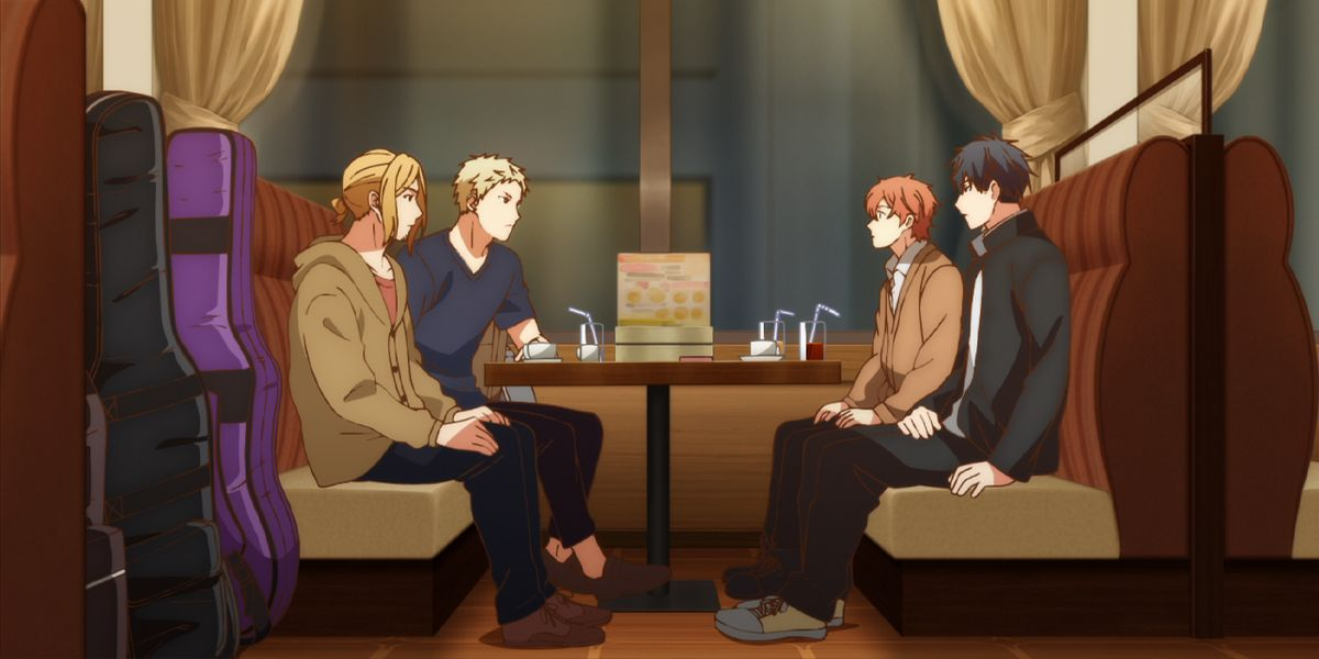 Official stills from Episode 2 of anime Given