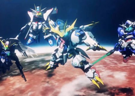 SD Gundam G Generation Cross Rays Game Visual