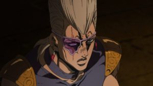 Jean Pierre Polnareff from anime Jojo's Bizarre Adventure: Golden Wind