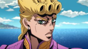 Giorno Giovanna from anime Jojo's Bizarre Adventure: Golden Wind