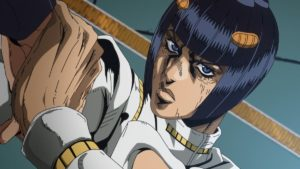 Bruno Bucciarati from anime Jojo's Bizarre Adventure: Golden Wind