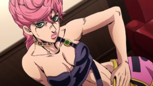 Trish Una from anime Jojo's Bizarre Adventure: Golden Wind