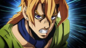 Pannacotta Fugo from anime Jojo's Bizarre Adventure: Golden Wind