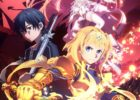 Sword Art Online: Alicization – War of Underworld Official Anime Visual