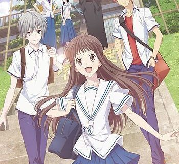 ANime Fruits Basket Key Visual