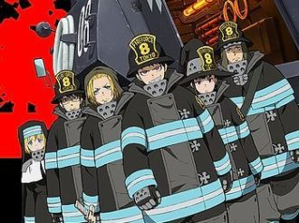 Fire Force Episode 3 Review:  The Rookie Fire Soldier Games
