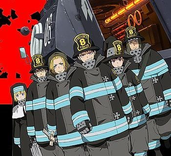 Fire Force Anime Visual