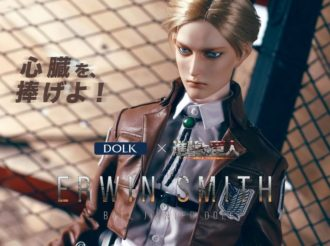 Attack on Titan Collaborates with DOLK for Erwin Smith Premium Doll