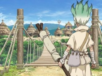TV Anime Dr. Stone Releases PV for its New Village Arc