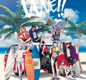 Key Visual of Anime Wave