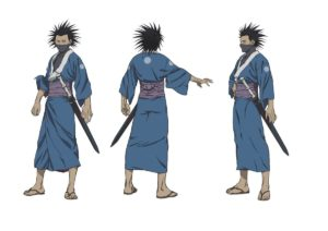 Taito Magatsu from anime Sabato Kuroi from anime The Blade of the Immortal (Mugen no Jūnin: Immortal)
