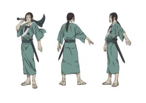 Anotsu Kagehisa from anime Taito Magatsu from anime Sabato Kuroi from anime The Blade of the Immortal (Mugen no Jūnin: Immortal)