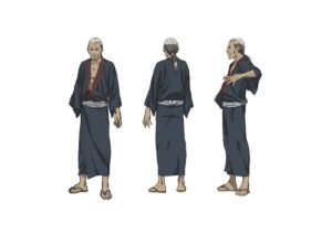 Sosuke Abayama from anime The Blade of the Immortal (Mugen no Jūnin: Immortal)