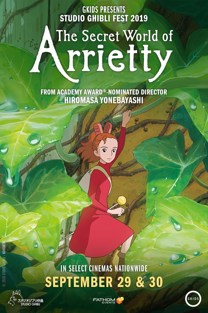 The Secret World of Arrietty | Anime Studio Ghibli