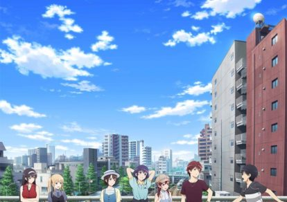 Key visual of anime movie SaeKano: How to Raise a Boring Girlfriend Fine
