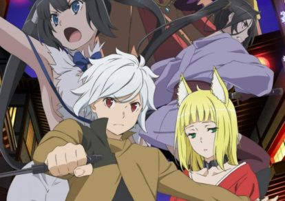Is It Wrong to Try to Pick Up Girls in a Dungeon? Season 2 Anime Visual