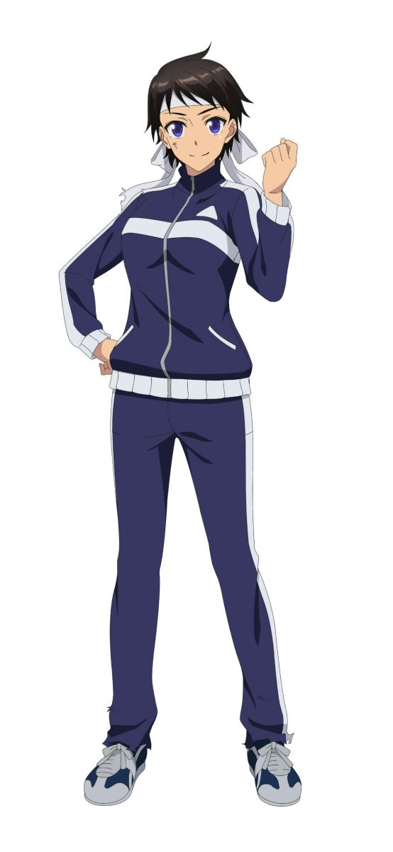 Ayumi Matsuoka from anime movie The Island of Giant Insects (Kyochuu Rettou)