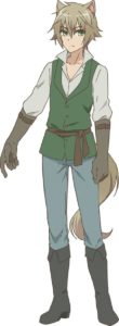 Character visual of Elk from TV anime Choyoyu