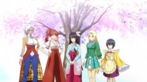 Shin Sakura Taisen the Animation Visual