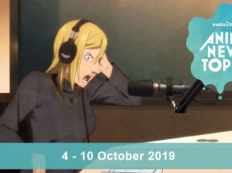 This Week's Top 10 Most Popular Anime News (4-10 October 2019)
