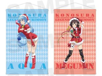 Limited KonoSuba Pop Up Shop Presents Santa Aqua and Santa Megumin