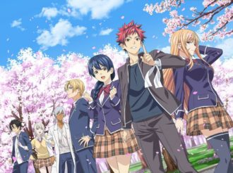 Food Wars! Shokugeki no Soma: The Fifth Plate Comes in April 2020