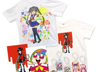 SALE: Exclusive Original Items — Cute Miko Charms, Clear Files and T-shirts
